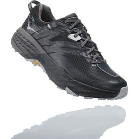Hoka One One Speedgoat 3 WP Hiking Shoes Herre black/drizzle